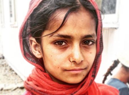Girl from Pakistan Afganistan Border