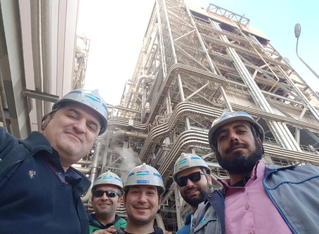 Powerplant technical Visit in Ain Al Sokhna EGYPT