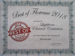 2018 Best of Florence