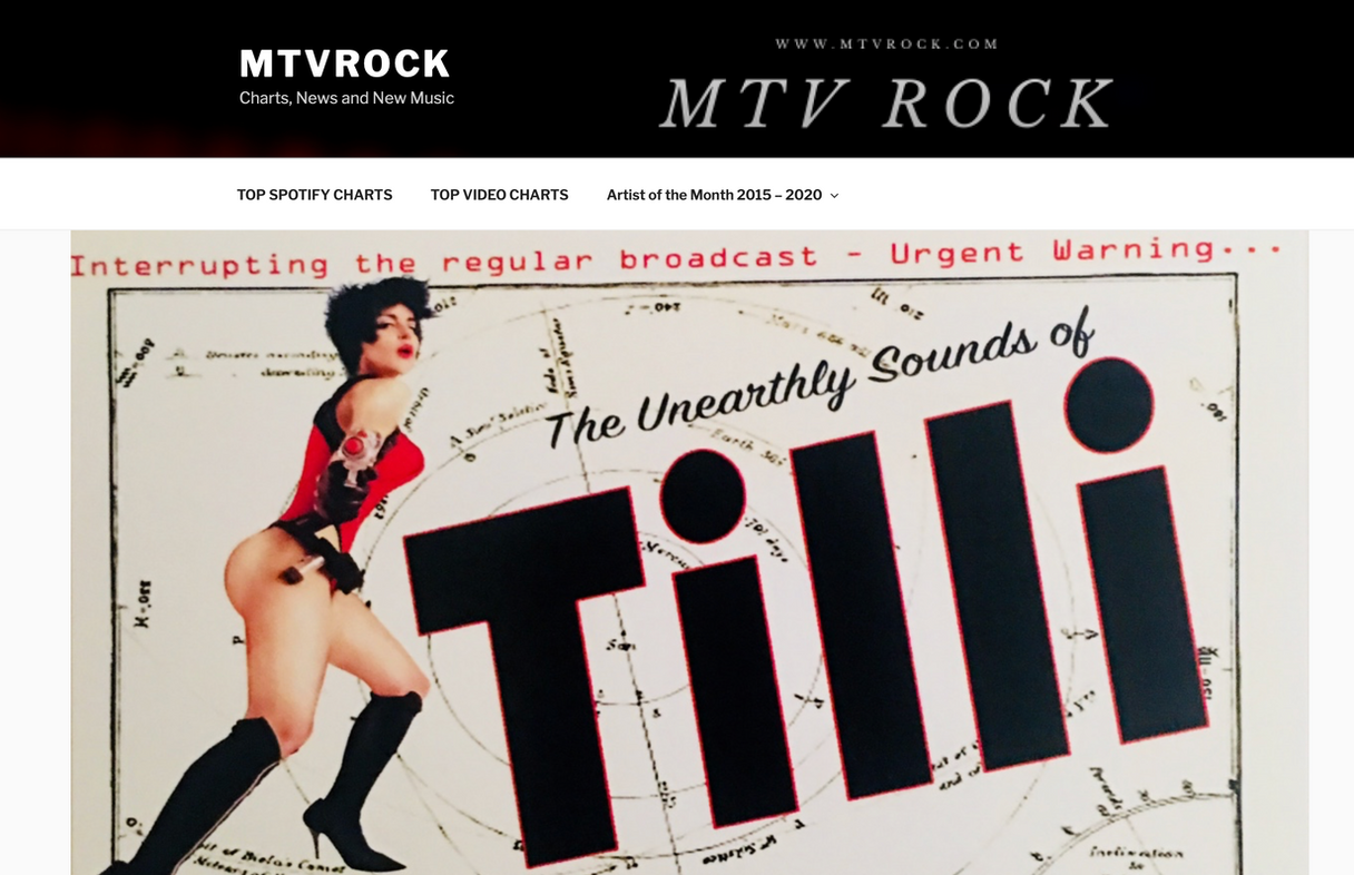 TILLI featured on MTVROCK