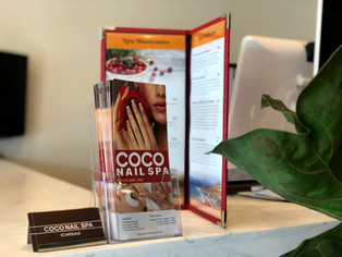 coco nail and spa scarsdale interior