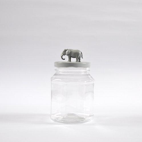 Frasco Elefante gris