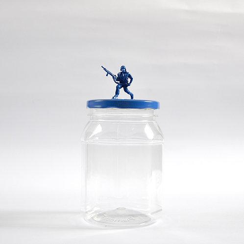 Frasco Soldado azul