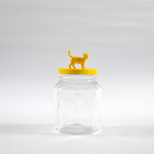 Frasco Gato amarillo
