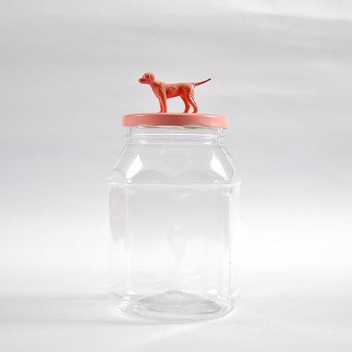Frasco Perro rosa claro