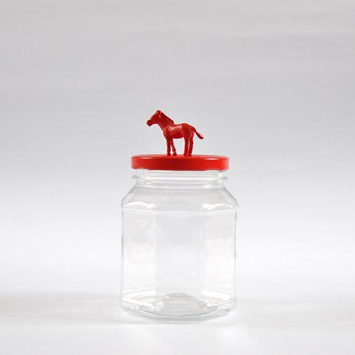 Frasco Cebra roja