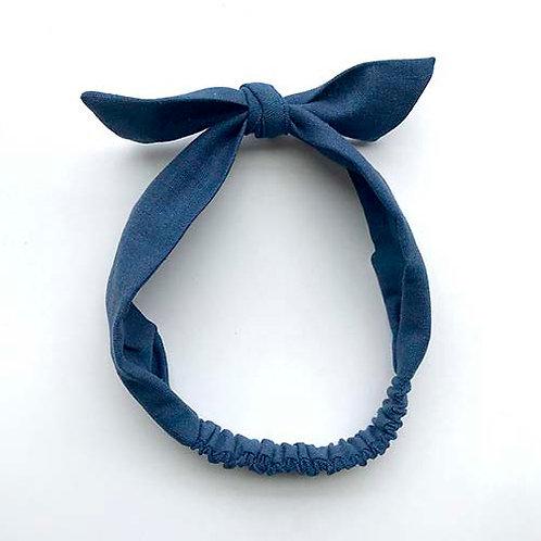 Cintillo Lino azul (A)
