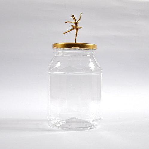 Frasco Bailarina dorado