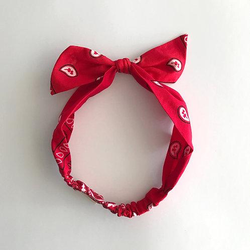 Cintillo Pañuelo rojo