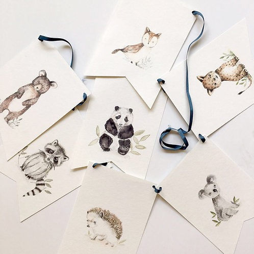 Banderines animales