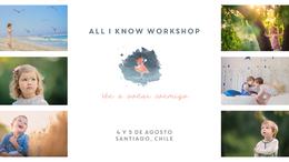 All I know Workshop / Ale Valdivia