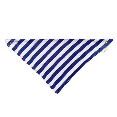 Rayado Azul / Blanco