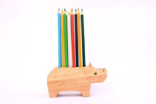 Rinoceronte Con lápices