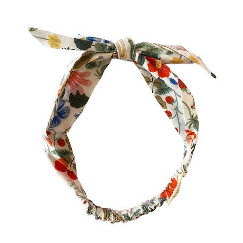 Cintillo Mariposa blanco (A)