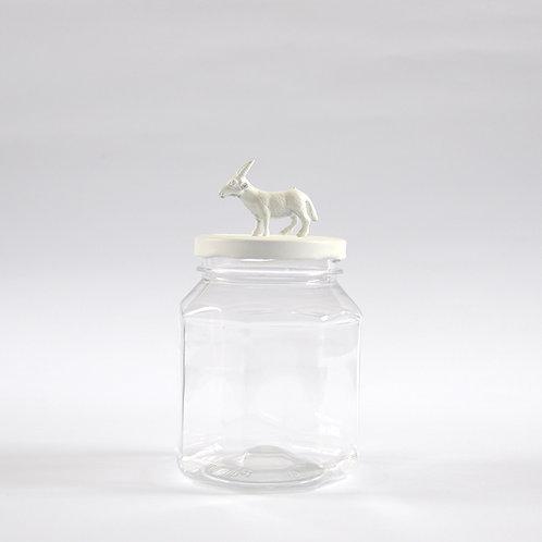 Frasco Cabra blanca