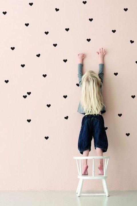 Stickers de corazones