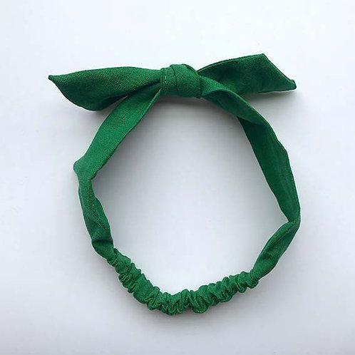 Cintillo Lino verde