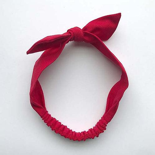 Cintillo Lino rojo