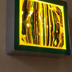 """""""Bouillon de stripes"""" wall lamp"""