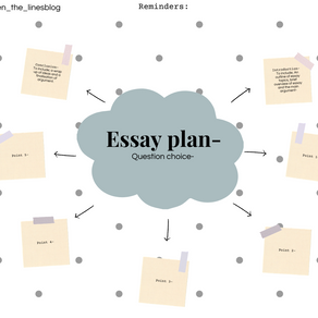 Essay planning templates for easier study-