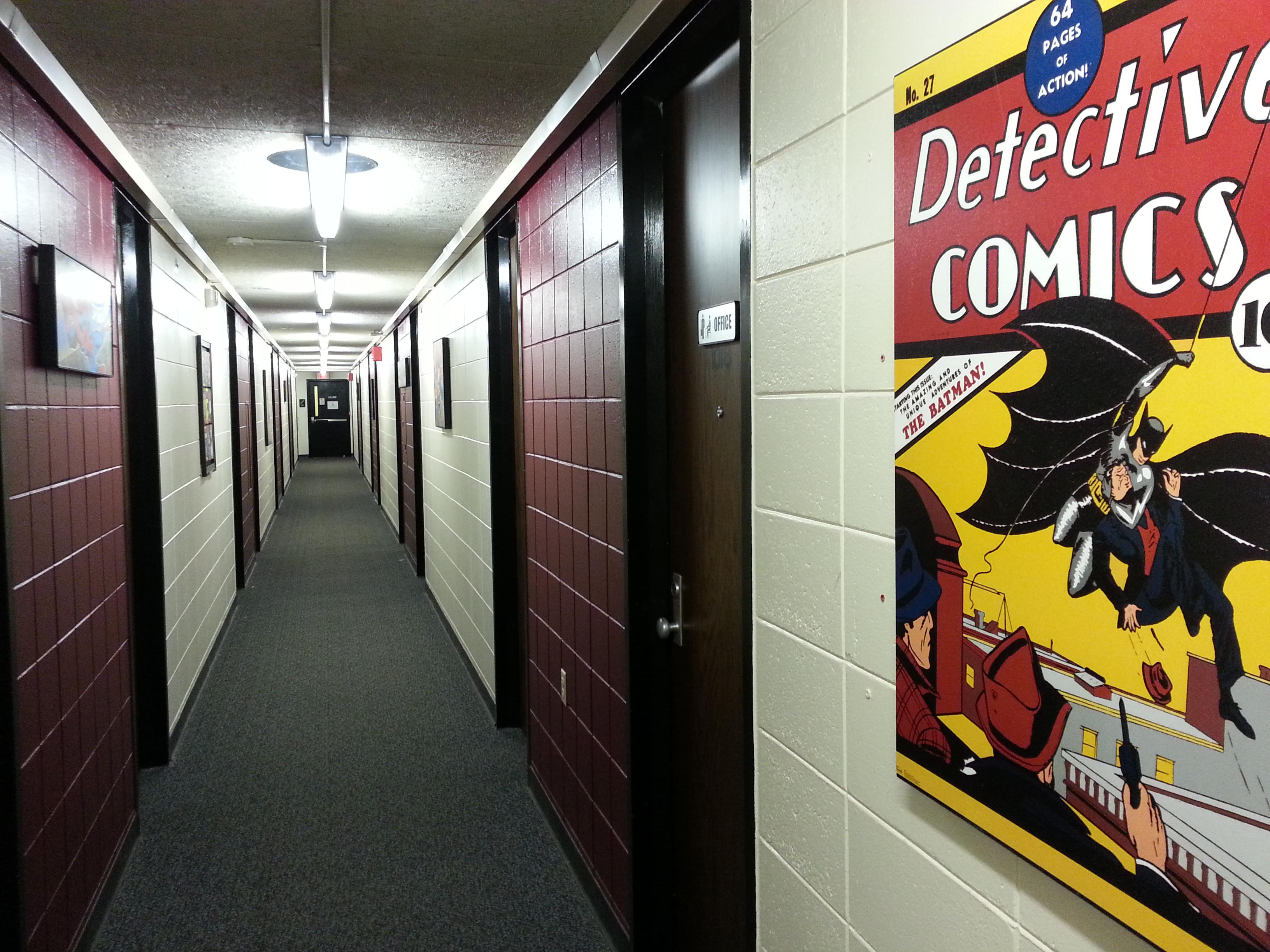 hallway / central boarding academy