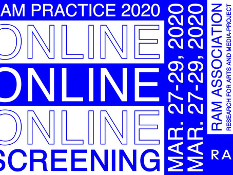 《 RAM PRACTICE 2020 – Online Screening 》