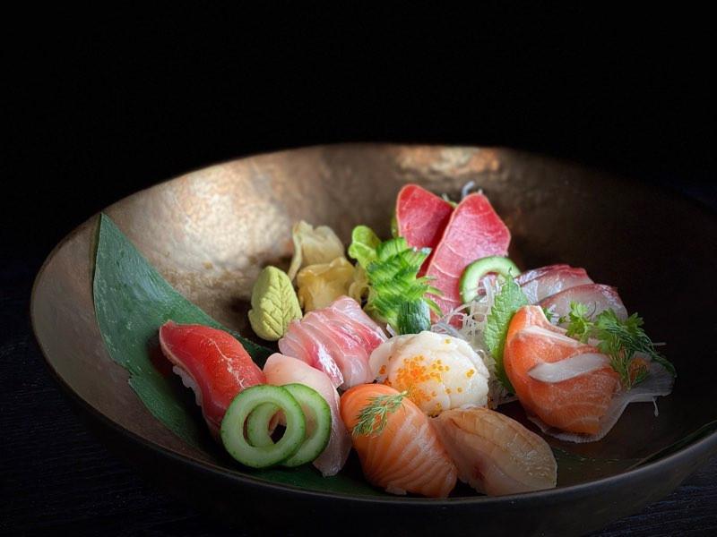 Sashimi Plate at Shinmachi