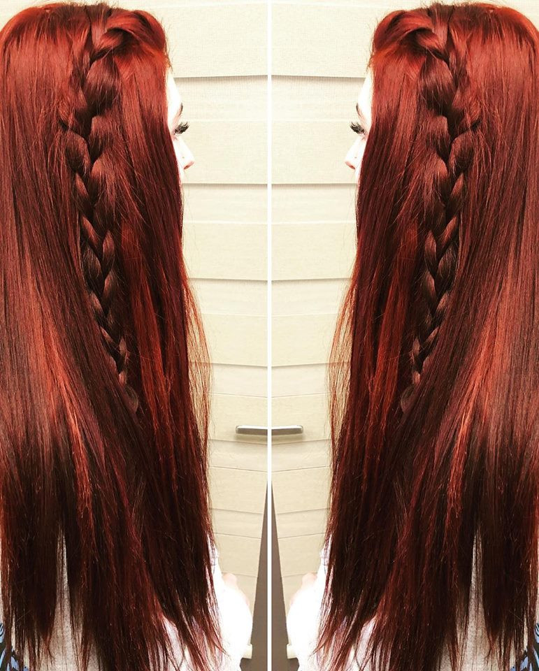 Red-Halo Couture- Braid