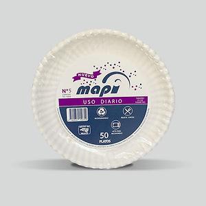 Plato biodegradable Mapi® N°5