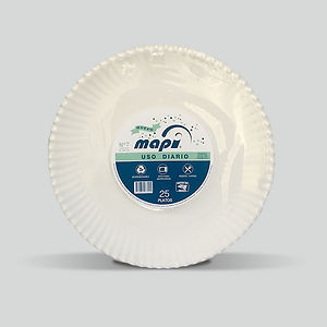 Charola biodegradable Mapi® N°7