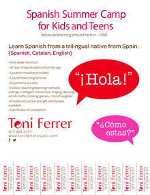 Spanish Summer Camp