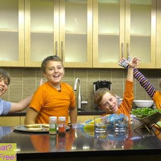 Jackson, Lily, Noah, Roisin, Sam