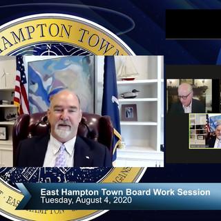 East Hampton Town Board Work Session