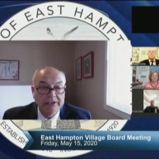 East Hampton Village Board Meeting