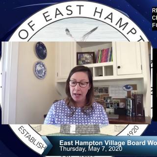 East Hampton Village Board Work Session