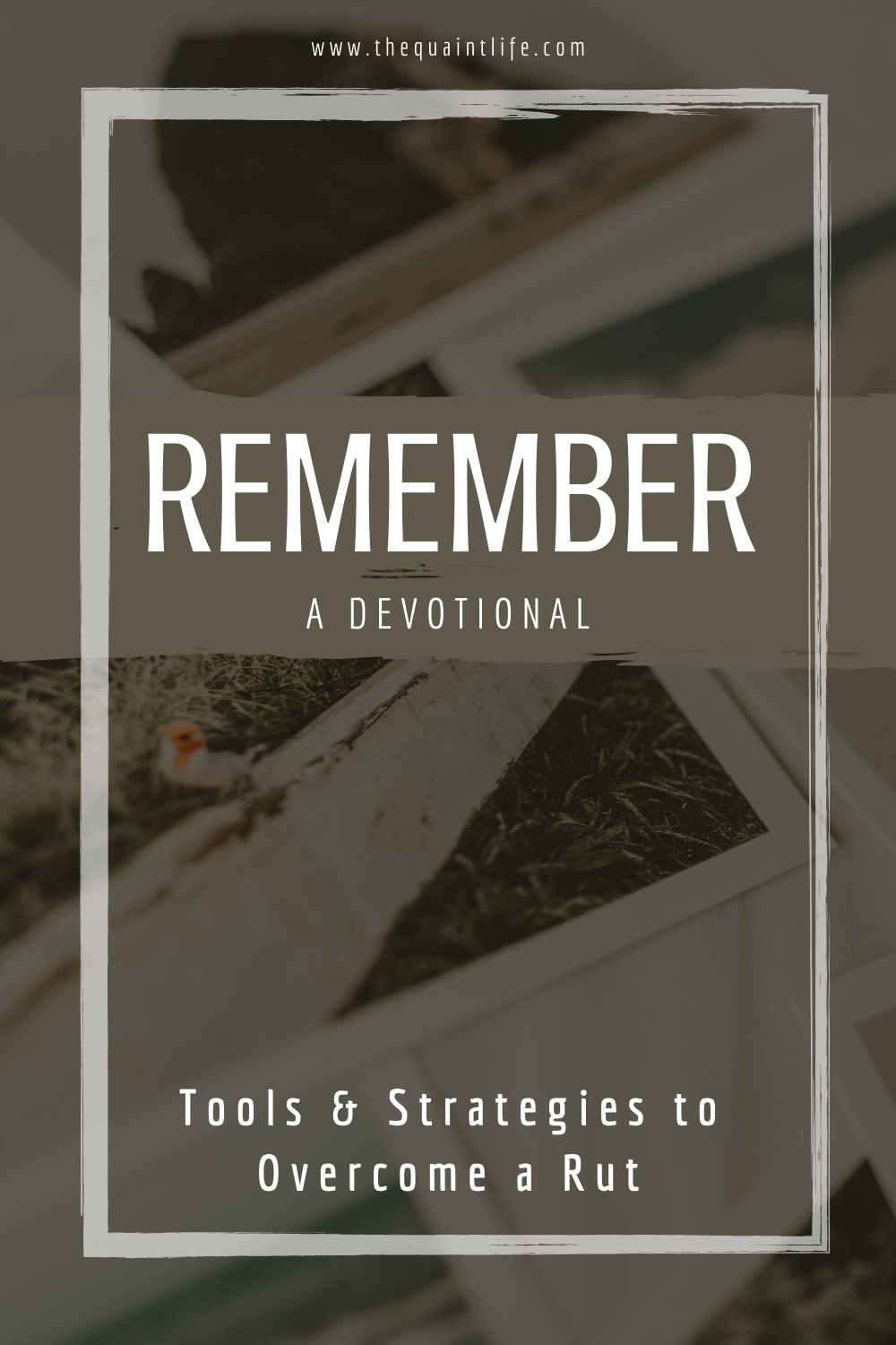Tools & Strategies to Overcome a Rut