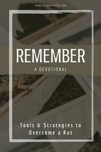 Tools & Strategies to Overcome a Rut