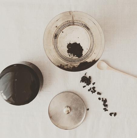 Decorazioni angolo caffè