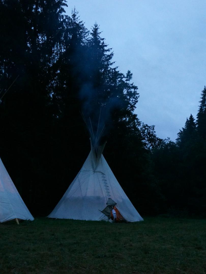 Konec dne - letní tábor Foxík