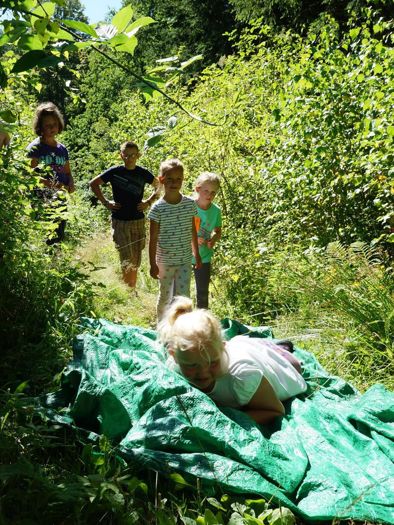 Náročná cesta ke splnění úkolu - Letní tábor Foxík