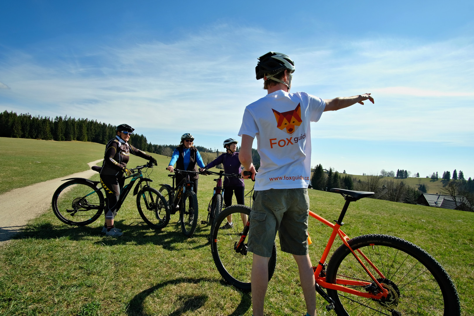 singltrek fox guide jizerské hory