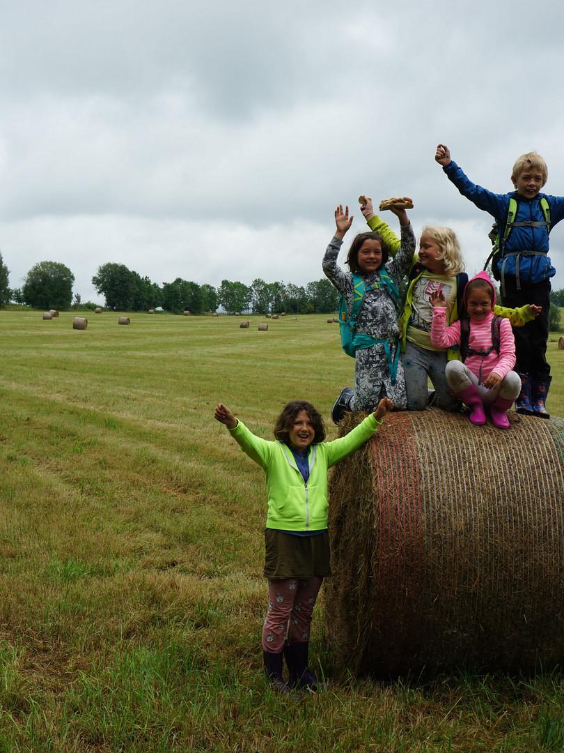 Na výletě - letní tábor Foxík