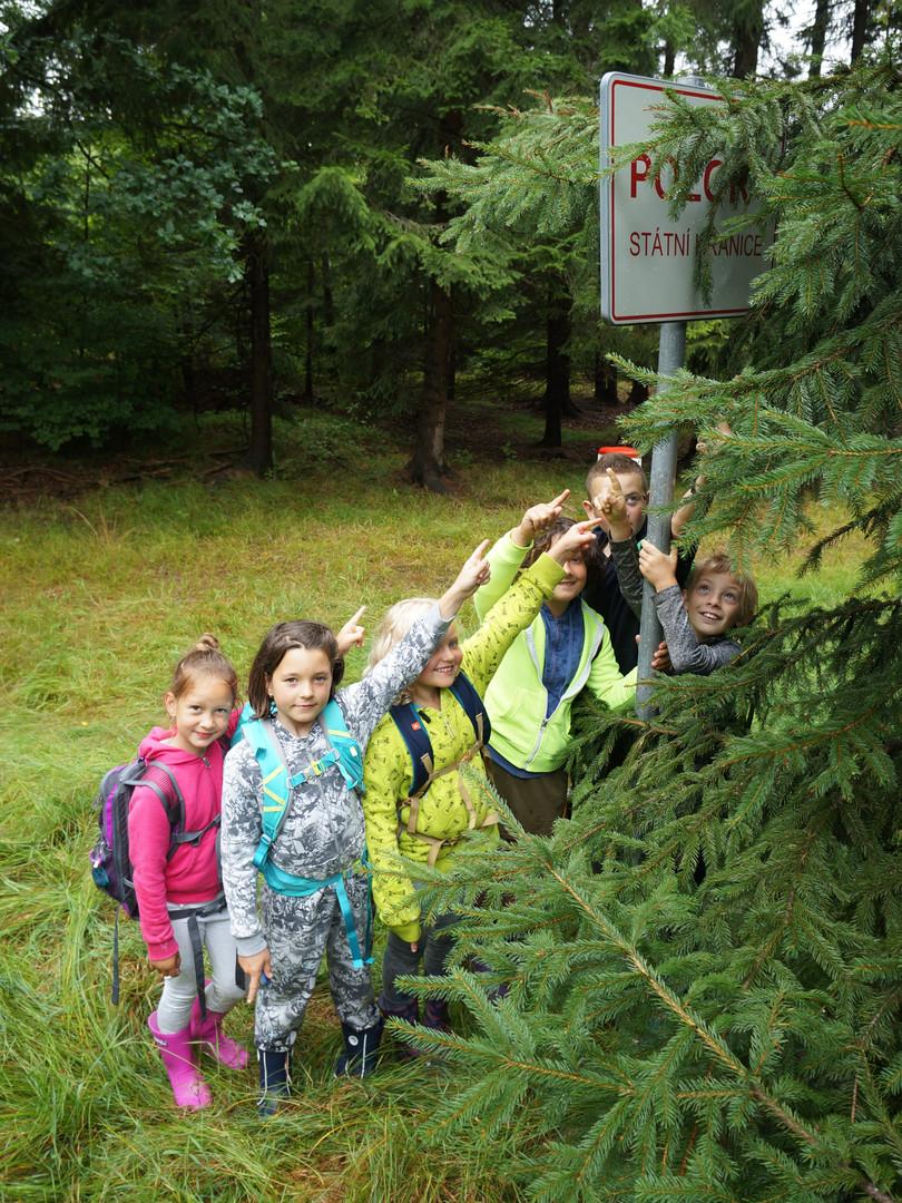 Na výletě u sousedů - letní tábor Foxík