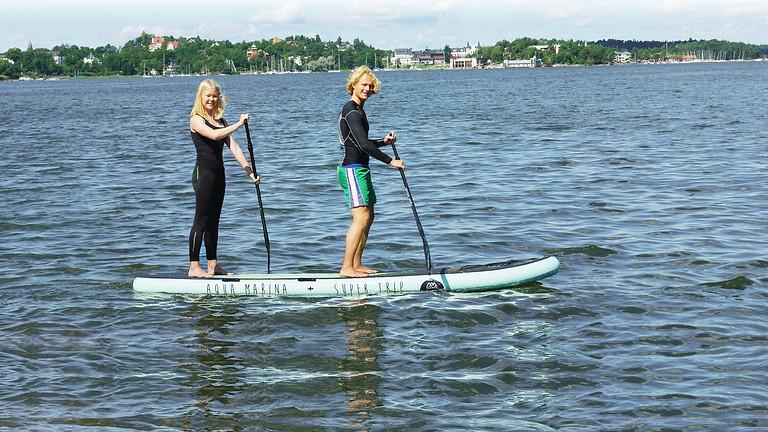Paddleboard Race Beroun