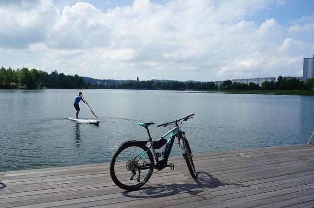 SUP bike Jizerské hory Fox guide