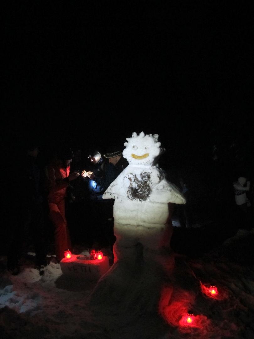 Večerní výprava za sněhulákem, Foxík
