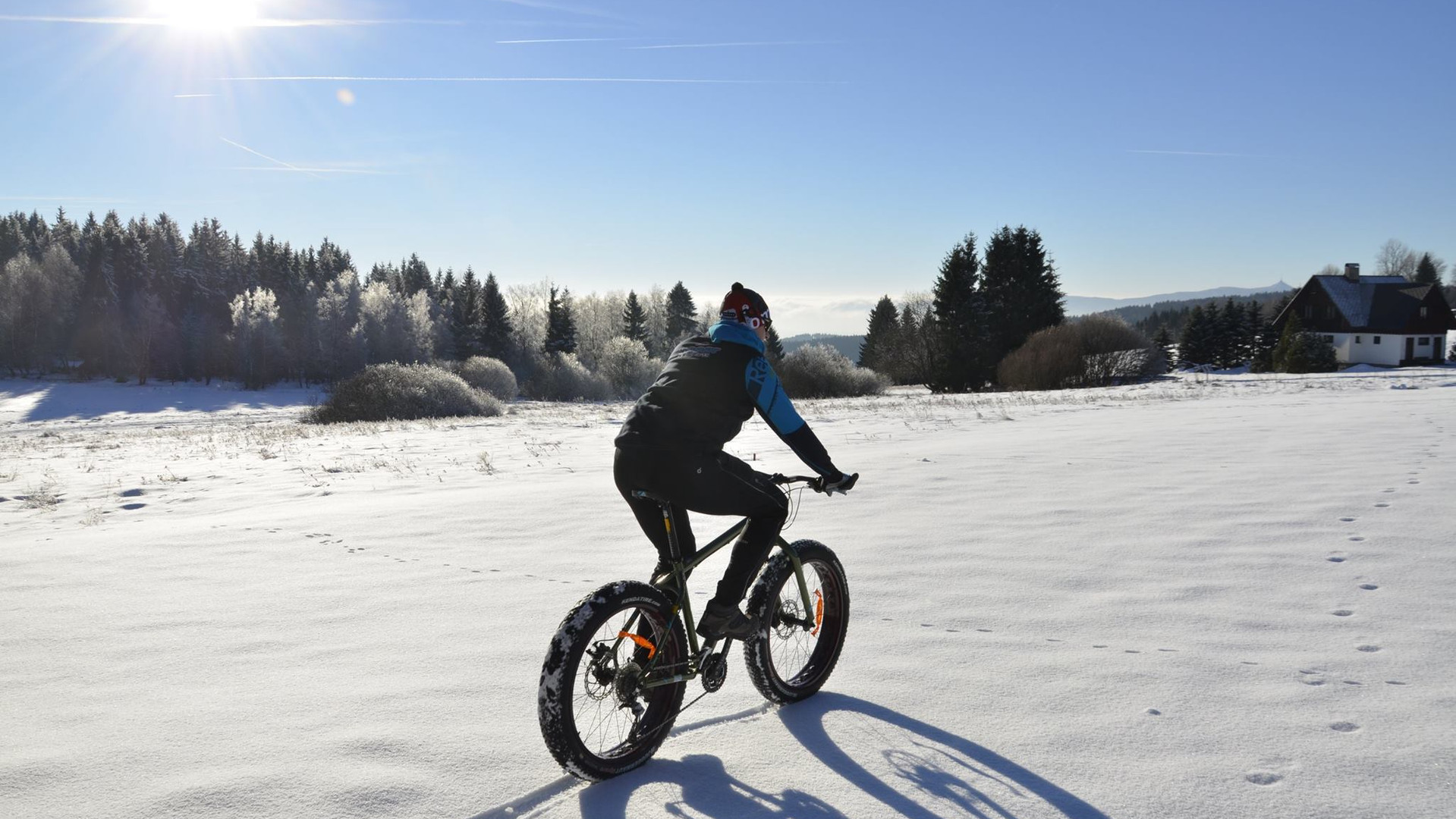 fox guide fat bike s průvodcem