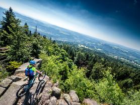 horská kola jizerské hory fox guide