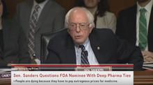 Bernie Sanders grills FDA head Robert Califf for KILLING PEOPLE for profits