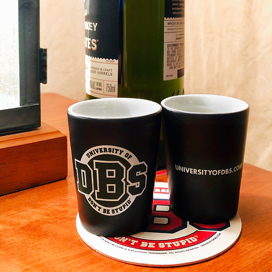 University of DBS 2oz. Shot Glasses - Set of 4